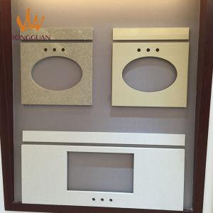 Marble-Look Customized Quartz Island Countertops pictures & photos