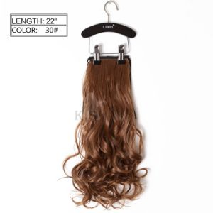 Hot Sell Japanese Kanekalon Synthetic Ponytail Hair pictures & photos