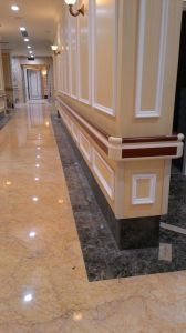 Baseboard Materials Corridor Wall Guards for Hospital pictures & photos