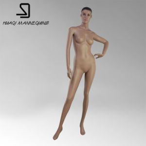 Female Full Body Stand Fleshcolor Glass Fiber Reinforced Plastics Mannequins pictures & photos