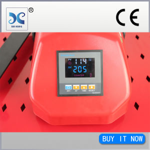 2015 Best Sale Heat Press Machine for Garment, Swinger Heat Press Machine Single Working Table pictures & photos