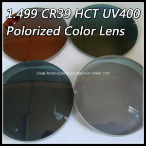 1.499 Cr39 Hct UV400 Polorized Color Lens