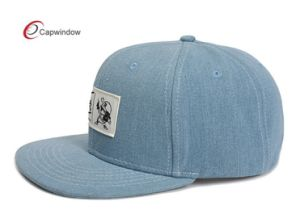 New Fashion Denim Snapback Hat with Custom Logo pictures & photos