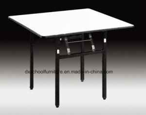 Wooden Folding Dining Table for Restaurant and Hotel pictures & photos