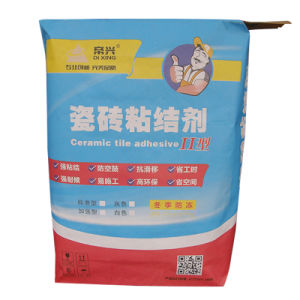 Kraft Paper Valve Bag for Tile Adhesive Packing pictures & photos