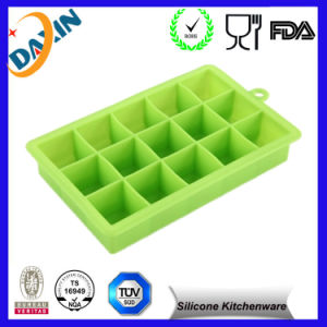 Custom 15 Cells Food Grade Silicone Ice Cube pictures & photos