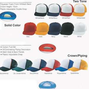Promotion Blank Baseball Cap / Golf Cap /Flat Bill Snap Cap (New era style) / Trucker Cap / Army Cap / Hat with Customized Logo pictures & photos
