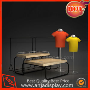 Garment 2 Tier Display Table Display Furniture for Store pictures & photos
