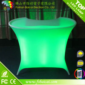 Fashion and Modern Illuminated Commercial LED Bar Counter Design