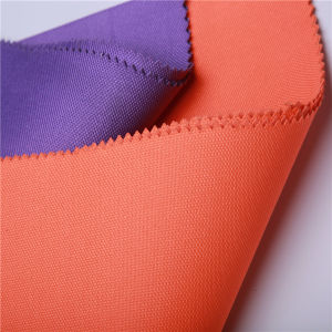 Reach Standard Diamond PVC Coating 66t Polyester Oxford Fabric pictures & photos