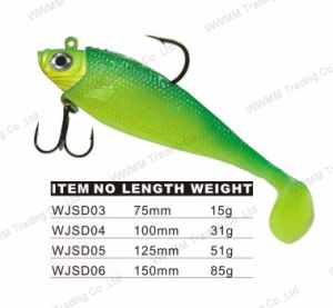 Lead Head Soft Bogy Fishing Lure (WJSD) pictures & photos