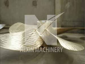 Propeller with Cast Brass 4.1 M, Finished Weight 5200kg pictures & photos