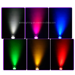 6X12W 6in1 Irc Wireless Battery LED Flat up Light pictures & photos