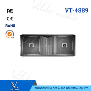Vt4889 Professional 3-Way Double 15′′ Woofer Line Array Speaker pictures & photos