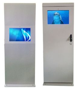 "22"" Outdoor LED Double Sided Nanotechnology Kiosk Touch Panel pictures & photos"