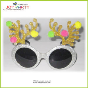 Deer Horn Christmas Party Glasses