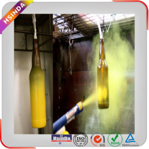 Decorative Various Colour Pigment Epoxy Polyester Powder Coating for Glass Bottle Paint pictures & photos