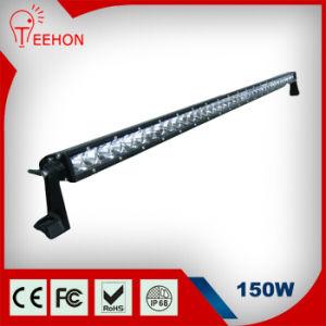"""33"""" 150W Single Row Flood LED Light Bar for Car pictures & photos"""