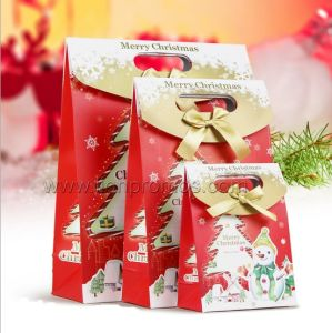 Christmas Seasoning Gift Paper Boutique Bag pictures & photos