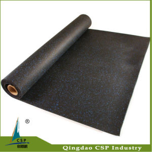 Csp Rubber Mat Floor for Crossfit Gym Room pictures & photos