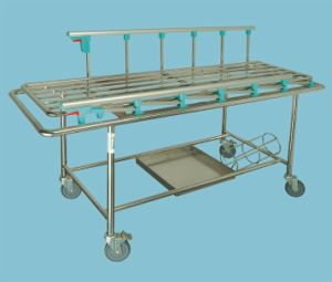 Bossay Hospital Transfer Stretcher Trolley pictures & photos