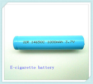 Lit-Ion Cylindrical 14650-1000mAh, Rechargeable Battery, E-Cigaarette, Li Ion Battery