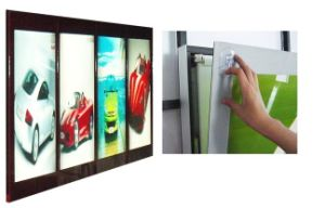 LED Magnetic Light Box with 4images