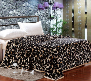 100% Polyester Whloesale Throw Printed Flannel Blankets