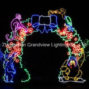 LED Speciall Arches Christmas Motif Light for Zoo Park pictures & photos