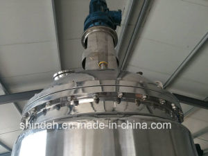 500L Mirror Polishing Vacuum Emulsifying Mixer Reactor pictures & photos