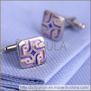 VAGULA Cuff Links Luxury Silver Cufflinks (Hlk31727) pictures & photos