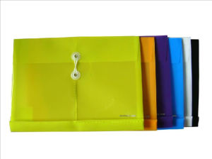 Horizontal Envelope Bag with Button (DP00280) pictures & photos