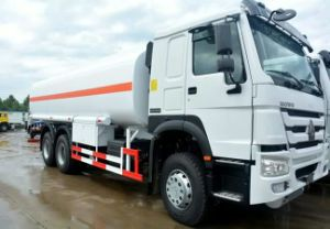 4.1 Cubic Meters 6 Wheel Oil Tanker pictures & photos
