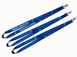 High Quality Custom Sublimation Lanyard with Free Sample pictures & photos