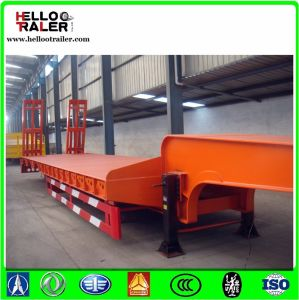 for Kenya 3 Axle 60 Ton Lowbed Trailer pictures & photos