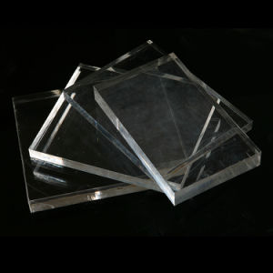 Transparent Acrylic Sheet PMMA for Laminating and Decoration pictures & photos