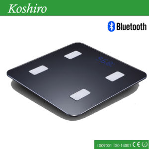 Bluetooth Body Fat Scale with Ios and Android APP pictures & photos