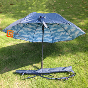 Straight Double Layer Umbrella with EVA Handle (YSL004B) pictures & photos