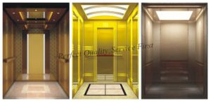 Passenger Elevator with Mirror Stainless Steel for Hotel pictures & photos