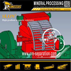 Iron Mining Machine Strong Intensity Slon Band Design Magnetic Separator pictures & photos