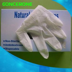 Disposable Latex Examination Gloves with High Quality pictures & photos