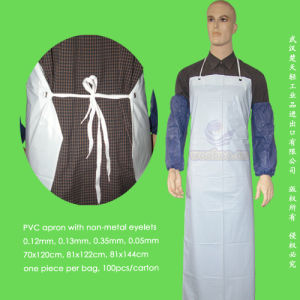 Disposable Poly Apron pictures & photos