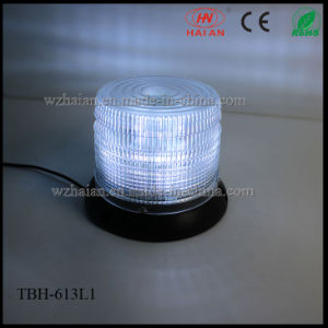 White Color LED Beacon Warning Lights with Magnetic pictures & photos