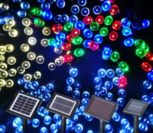 22m 200LED Ce RoHS Cetificited Outdoor Solar Christmas String Lights LED Christmas Solar Decoration Light pictures & photos