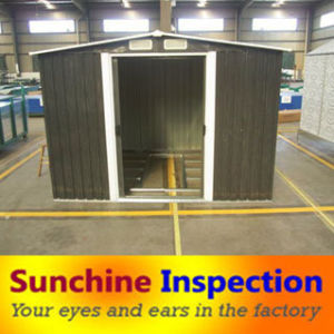Garden Shed Quality Check/Quality Control/Quality Inspection pictures & photos