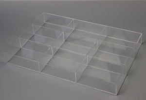Acrylic Compartment Box for Storage pictures & photos