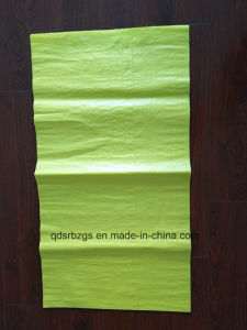 Colored Blank Plastic PP Woven Bag with High Quality pictures & photos
