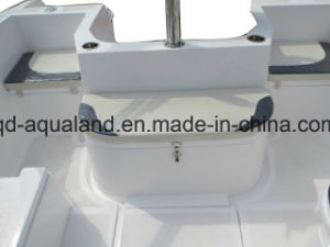 Aqualand 20.5feet 6.25m Fiberglass Motor Boat/Speed Boat/Sports Fishing (205br) pictures & photos