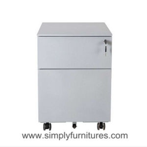 Steel Mobile Cabinet with 2 Drawers Gray (SI6-LCF2G) pictures & photos