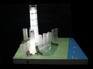 Architectural Model Made of ABS and Acrylic (JW-289) pictures & photos